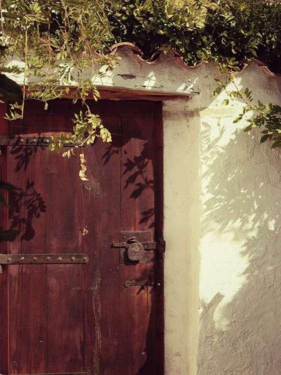 Aus der Tür