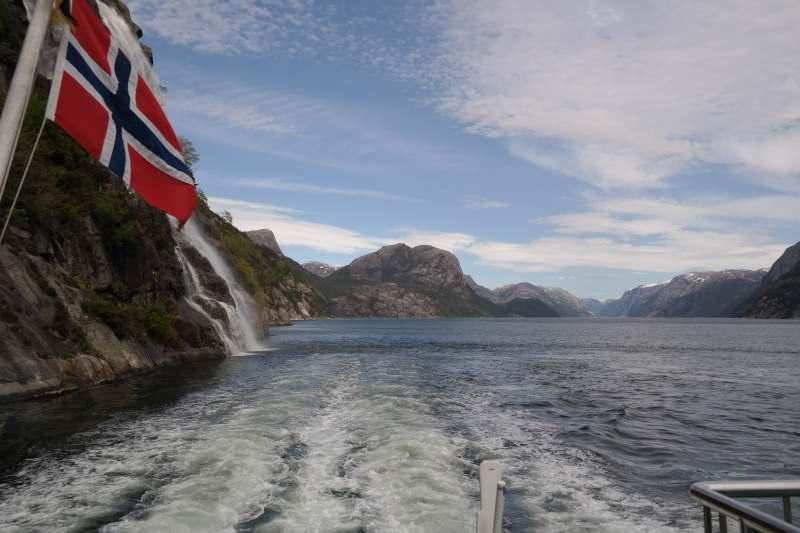 Tour auf dem Lysefjord