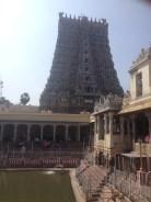 Gopuram at Madurai Meenakshi temple
