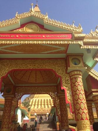 Buddhist pagoda at Gorai