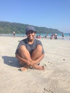 Radhanagar Beach (Asia's best beach, Time 2004)