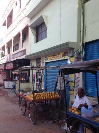Mango stalls on our street