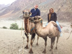 Jacob and I with our camels!