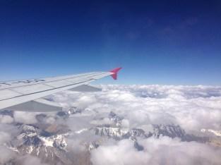 Flying over those Western Himalayas