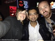 Our couchsurfer host, Prashant took us out to the Black Flower.