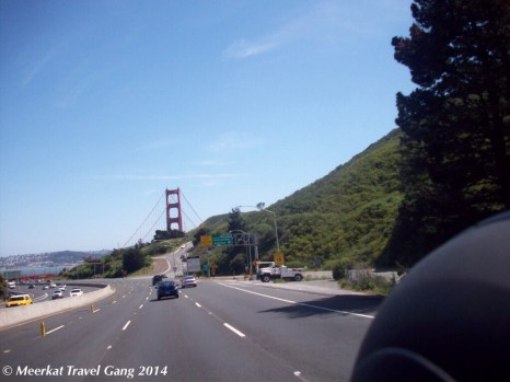 Nearing Golden Gate bridge
