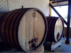 And here, the barrels