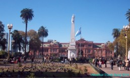 The Casa Rosada and square, for 8am on a Sunday morning it was very busy.