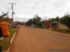 Arriving in San Juan, Paraguay