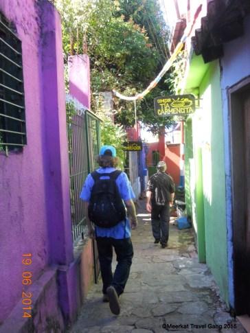 Asunción alleyways
