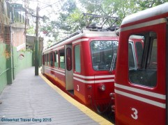 Corcovado Park Train/Tram up to Christ the Redeemer statue