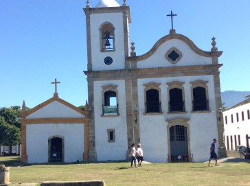 every old or colonial brazilian city has a similar church