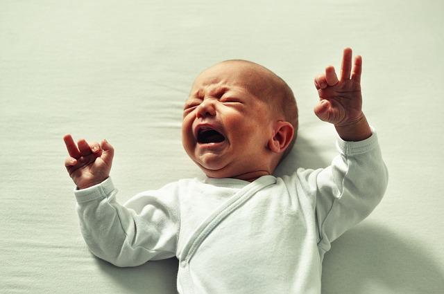 darmkrampjes bij baby's