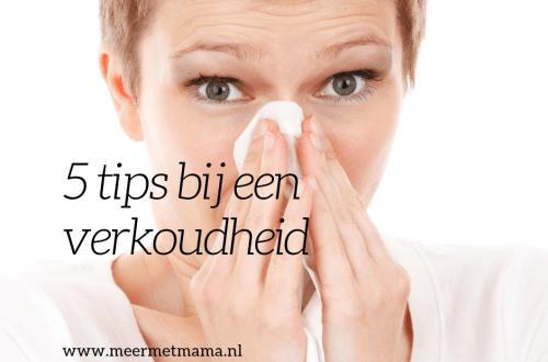 tips bij een verkoudheid