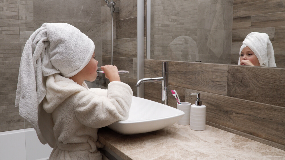 badkamer kindvriendelijk