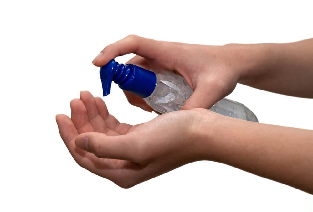 desinfecterende handgel maken