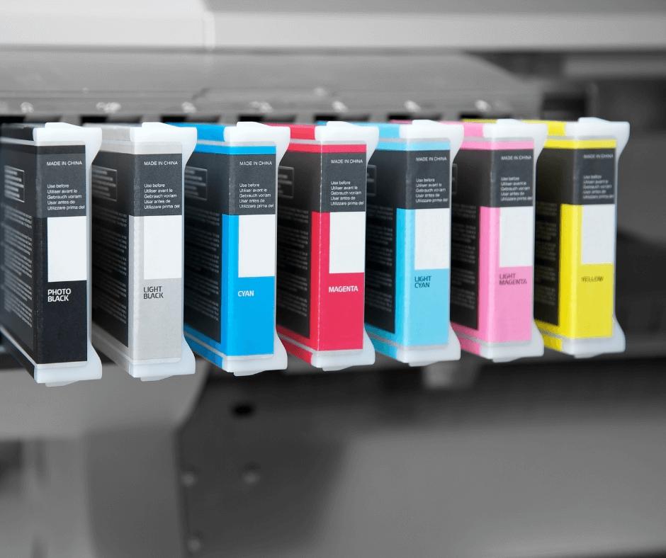 besparen inkt