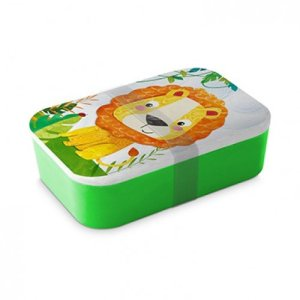 Lunchbox bamboe Happy Lion