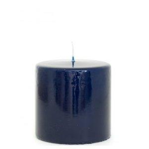Stompkaars hoogglans blauw 10x10cm-donkerblauw