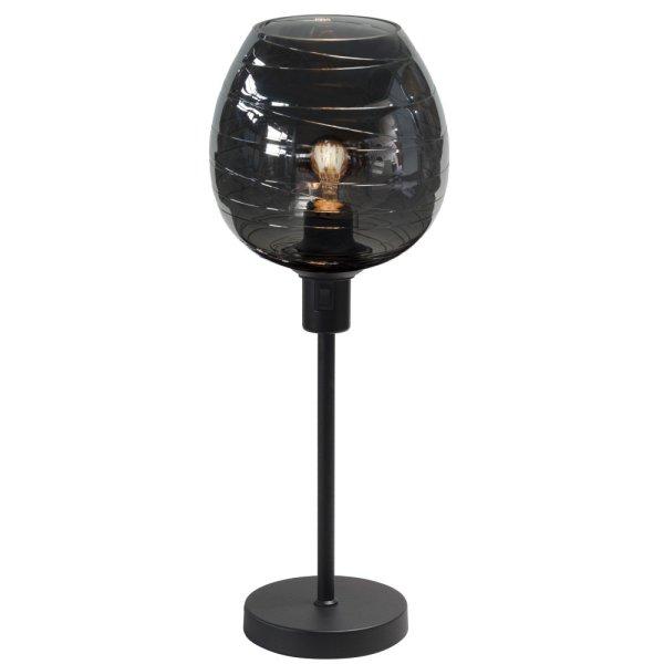 Tafellamp zwart Fantasy apple