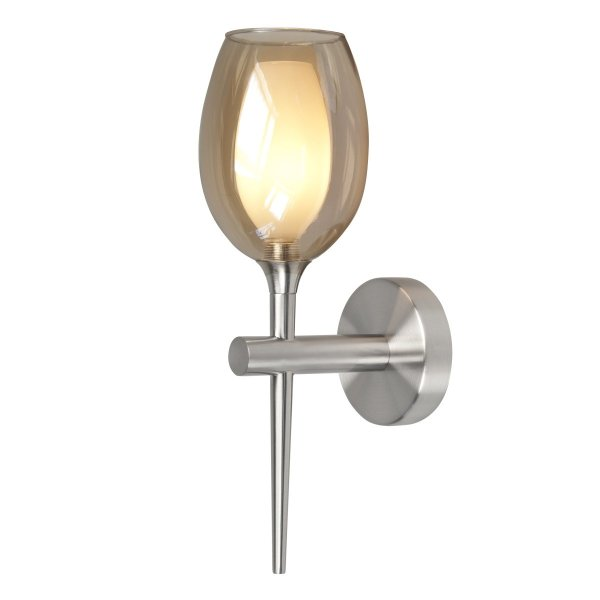 Wandlamp amber Belle