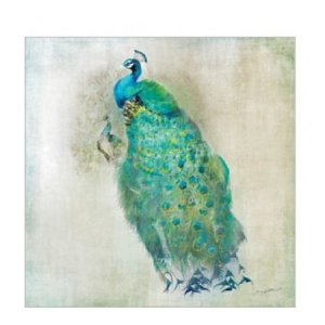 Servetten de royal peacock 25x25