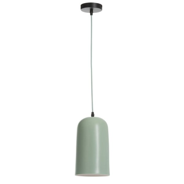 Hanglamp groen porselein 14cm