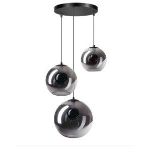 Hanglamp smoke orb 3 lichts