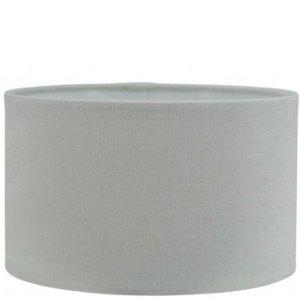 Lampenkap grijs katoen cilinder TLI0618