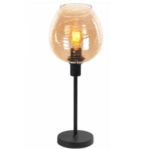 Tafellamp amber Fantasy apple 34cm