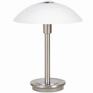 Tafellamp nikkel Touchy 26cm