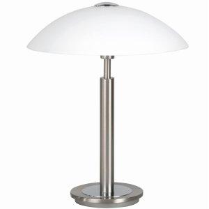 Tafellamp nikkel Touchy 36cm