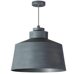 Hanglamp grijs Grey 28cm