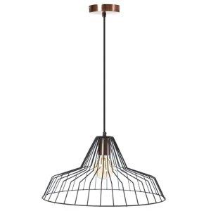 Hanglamp zwart Starfish 45cm