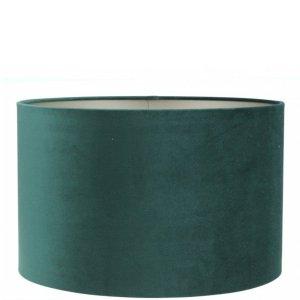 Lampenkap groen velvet cilinder TPMV15