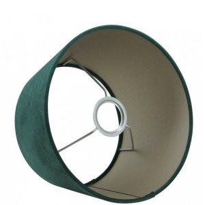 Lampenkap groen velvet halfhoog TPMV15 detail