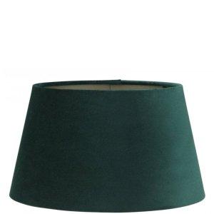 Lampenkap groen velvet halfhoog TPMV15