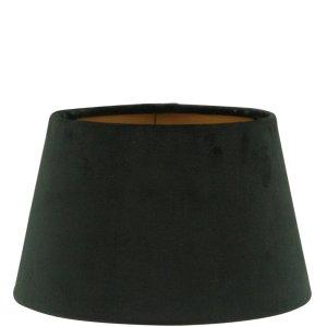Lampenkap zwart velvet halfhoog TSA16