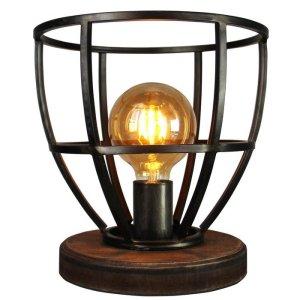 Tafellamp zwart Aperto 28cm