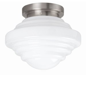 Plafondlamp melkglas York 30cm