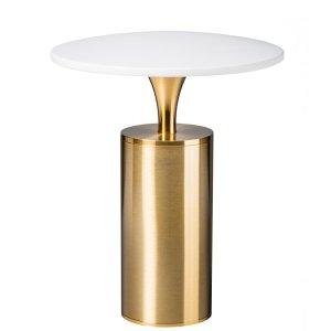 Tafellamp LED brons-wit Jazz 23cm