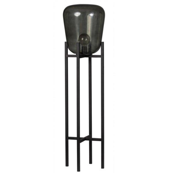 Vloerlamp zwart Benn 130cm