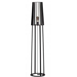 Vloerlamp zwart Blackbird 146cm