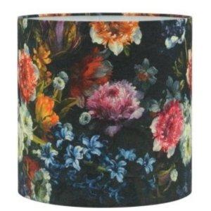 Lampenkap bloemenprint katoen 40×40
