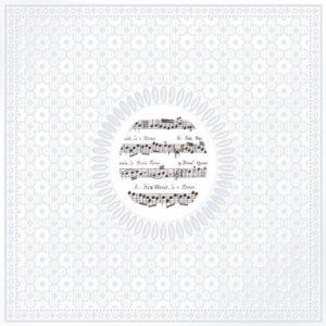 Servetten Medaillon Music 33x33