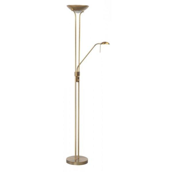 Vloerlamp brons Luna 180cm