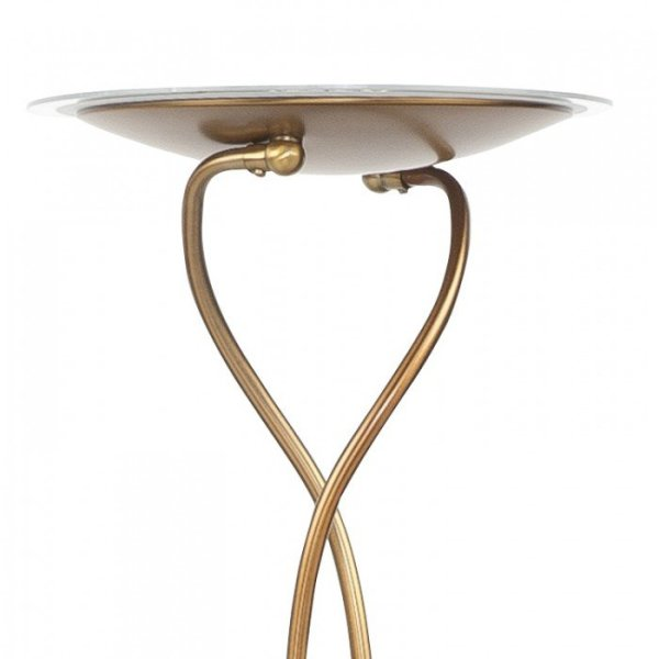 Vloerlamp brons New Empoli kap