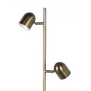 Vloerlamp brons Ovale detail