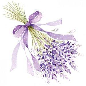 servetten Lavender 33x33