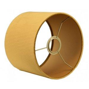 Lampenkap goud velvet cilinder TQU05 detail